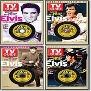 Click here for more info about 'Elvis Presley - TV Guide - All 4 Covers + 3