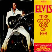 Click here for more info about 'Elvis Presley - Take Good Care Of Her'