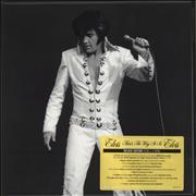 Elvis Presley That's The Way It Is - Deluxe Edition - Stickered box USA box set