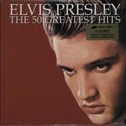 Click here for more info about 'Elvis Presley - The 50 Greatest Hits - Sealed'