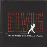 Elvis Presley The Complete '68 Comeback Special UK cd album box set