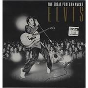Elvis Presley The Great Performances UK vinyl LP