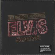 Elvis Presley The Nation's Favourite Elvis Songs - Sealed UK 2-CD album set