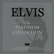 Click here for more info about 'Elvis Presley - The Platinum Collection - White Vinyl'
