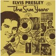 Elvis Presley The Sun Years UK vinyl LP