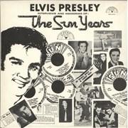 Elvis Presley The Sun Years Belgium vinyl LP