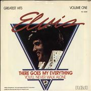 "Elvis Presley There Goes My Everything USA 7"" vinyl"