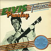 Elvis Presley Twin Pack UK 2-LP vinyl set