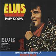 Click here for more info about 'Elvis Presley - Way Down [Numbered]'