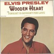 Click here for more info about 'Elvis Presley - Wooden Heart - 4 Prong'