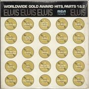 Elvis Presley Worldwide Gold Award Hits, Parts 1 & 2 - Sealed USA 2-LP vinyl set