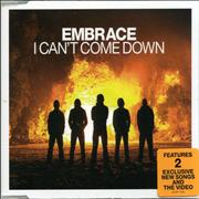 Click here for more info about 'Embrace - I Can't Come Down'