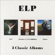 Click here for more info about 'Emerson Lake & Palmer - 3 Classic Albums'