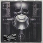 "Emerson Lake & Palmer Brain Salad Surgery - Clear Vinyl - RSD17 UK 7"" vinyl"