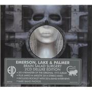 Emerson Lake & Palmer Brain Salad Surgery - Deluxe Edition UK 2-CD album set