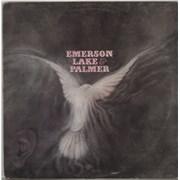 Emerson Lake & Palmer Emerson Lake And Palmer UK vinyl LP