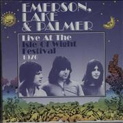 Emerson Lake & Palmer Live At The Isle Of Wight Festival 1970 UK CD album