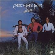 Click here for more info about 'Emerson Lake & Palmer - Love Beach + Merch sheet'