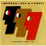 "Emerson Lake & Palmer Touch & Go UK 7"" vinyl"