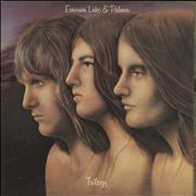 Click here for more info about 'Emerson Lake & Palmer - Trilogy - 1st - EX'