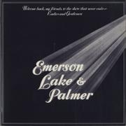 Click here for more info about 'Emerson Lake & Palmer - Welcome Back - EX'