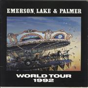 Click here for more info about 'Emerson Lake & Palmer - World Tour 1992 + Inserts/Flyers & Ticket'