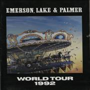 Click here for more info about 'Emerson Lake & Palmer - World Tour 1992 + Inserts/Flyers'