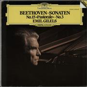 Click here for more info about 'Emil Gilels - Beethoven: Sonaten No. 15