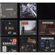 Click here for more info about 'Eminem - 5 CD Albums + 2 CD Soundtracks + 1 CD Compilation'