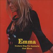 Click here for more info about 'Emma Bunton - Crickets Sing For Anamaria - Club Mixes'