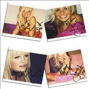 Click here for more info about 'Emma Bunton - We're Not Gonna Sleep Tonight - Autographed'