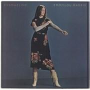 Emmylou Harris Evangeline USA vinyl LP