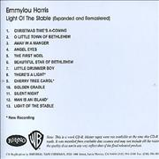 Click here for more info about 'Emmylou Harris - Light Of The Stable - Expanded And Remastered'