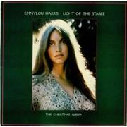 Emmylou Harris Light Of The Stable - The Christmas Album UK vinyl LP