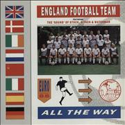 Click here for more info about 'England Football Squad - All The Way + Poster'