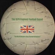 Click here for more info about 'England Football Squad - The World Beaters Sing The World Beaters - VG'