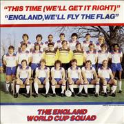 Click here for more info about 'England Football Squad - This Time (We'll Get It Right)'