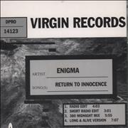 Click here for more info about 'Enigma - Return To Innocence'