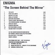 Click here for more info about 'Enigma - The Screen Behind The Mirror'