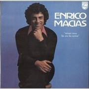 Enrico Macias Aimez-Vous Les Uns Les Autres Greece vinyl LP