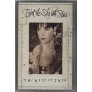 Enya Paint The Sky With Stars: The Best Of Enya UK cassette album