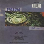 "Erasure A Little Respect - Postcard Pack UK 7"" vinyl"