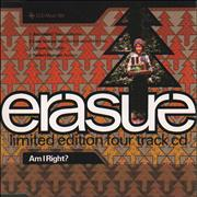 Click here for more info about 'Erasure - Am I Right? - Remix'
