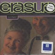 Click here for more info about 'Erasure - Am I Right? + PR sheet'