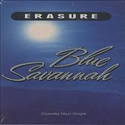 Click here for more info about 'Erasure - Blue Savannah CASSETTE SINGLE SET'