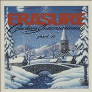 "Erasure Crackers International II UK 12"" vinyl"