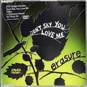Click here for more info about 'Erasure - Don't Say You Love Me'