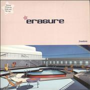 "Erasure Freedom UK 12"" vinyl"