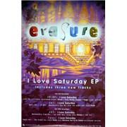 Click here for more info about 'Erasure - I Love Saturday'