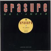 Click here for more info about 'Erasure - Oh L'amour'